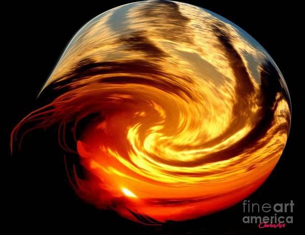 Digital Art - Solar Flare by Jean Clarke