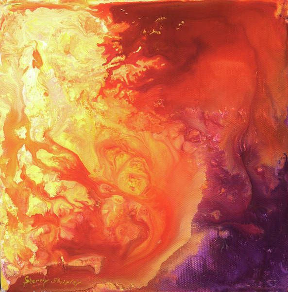 Painting - Solar Flare by Sherry Shipley