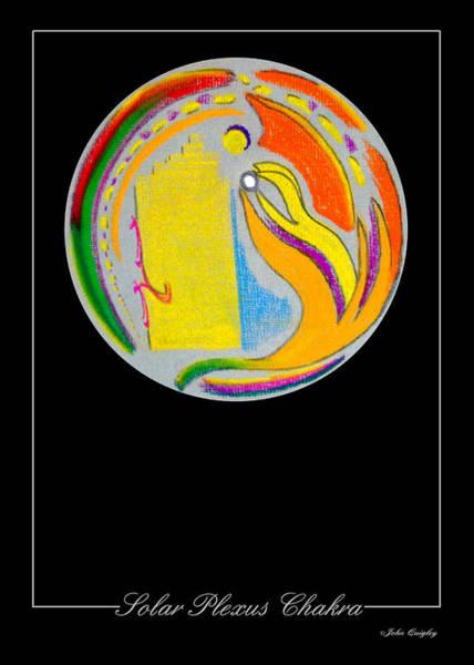Pastel - Solar Plexus Chakra by John Quigley
