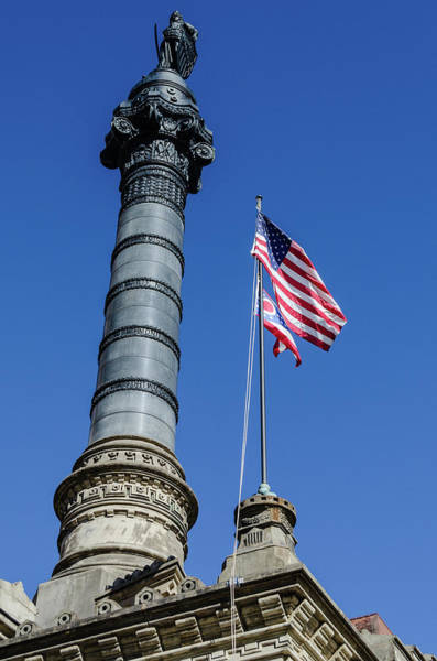 Photograph - Soldier's And Sailor's Monument by Stewart Helberg