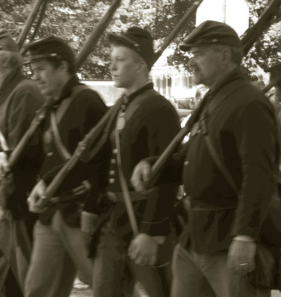 Photograph - Soldiers Of Another Time by Anne Cameron Cutri