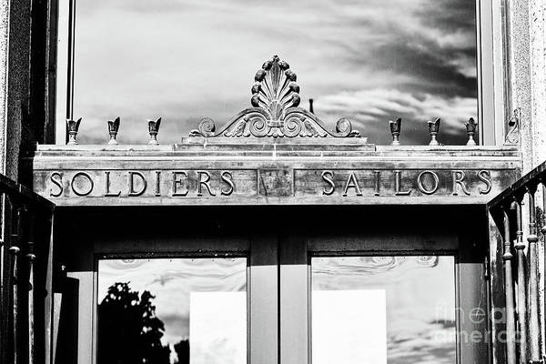 Wall Art - Photograph - Soldiers Sailors - Bw by Scott Pellegrin