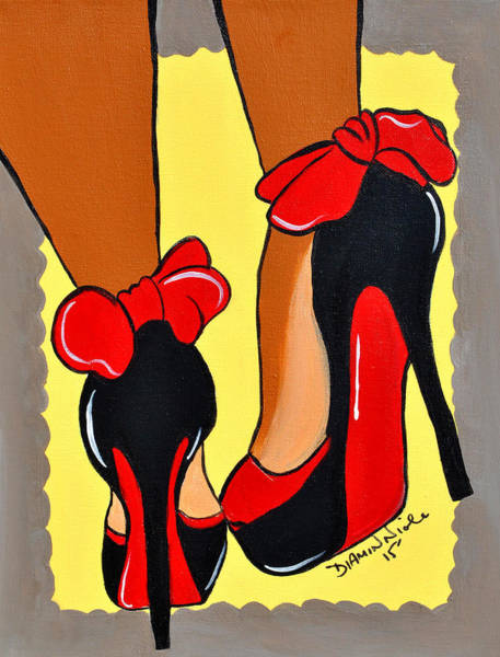 Painting - Sole Mate by Diamin Nicole