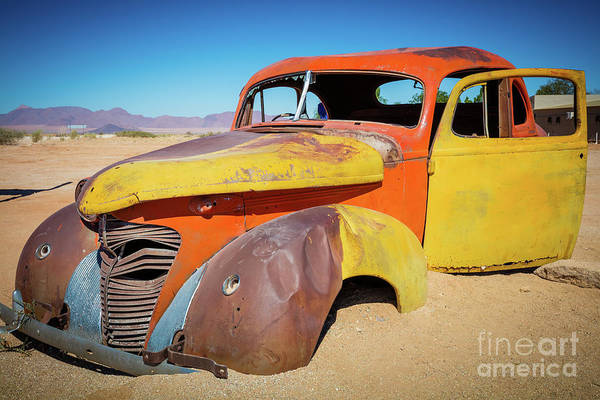 Wall Art - Photograph - Solitaire Auto by Inge Johnsson