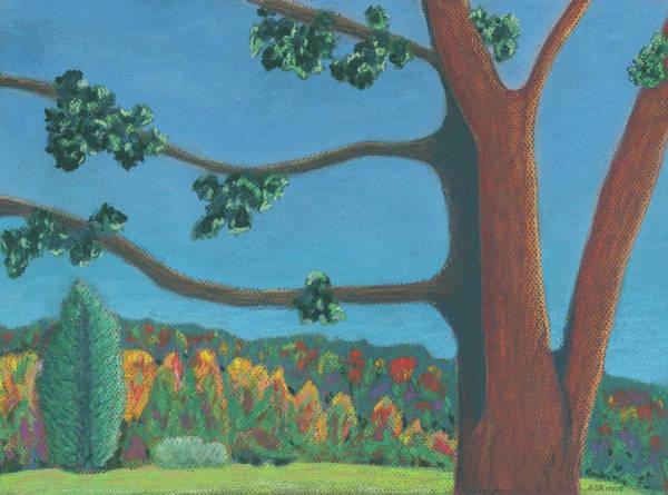 Pastel - Solitude by Anne Katzeff