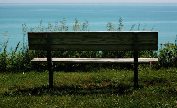 Photograph - Solitude In Nature Lake Michigan by Marilyn Hunt