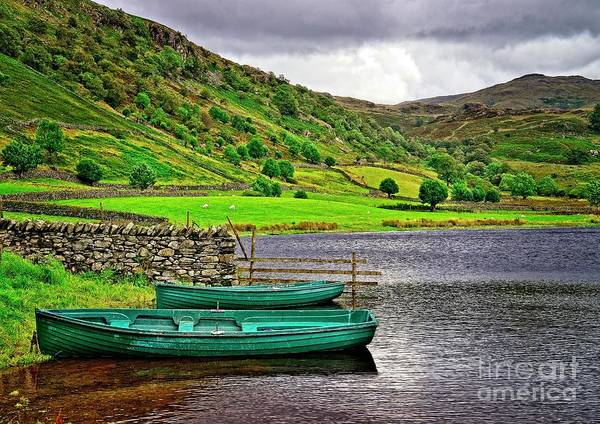 Photograph - Solitude In The Lake District  by Martyn Arnold