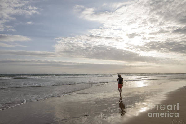 Ocean Grove Photograph - Solitude by Linda Lees