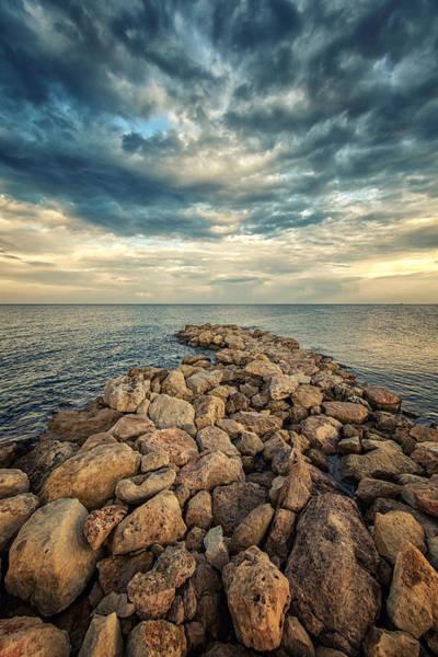 Crystal Coast Photograph - Solitude by Stelios Kleanthous