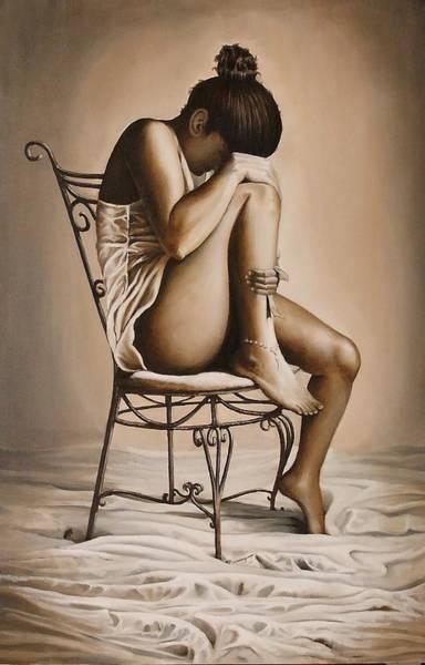 Benny Painting - Solitudine by Benny Brimmer