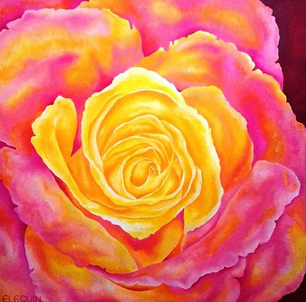 Wall Art - Painting - Solo by Elizabeth Elequin