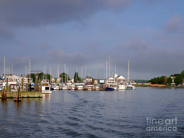 Wall Art - Photograph - Solomons Island Off Chesapeake Bay Maryland by Louise Heusinkveld