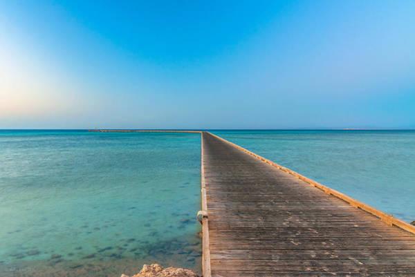 Photograph - Soma Bay Sea Scape Sunrise Mood by Julis Simo