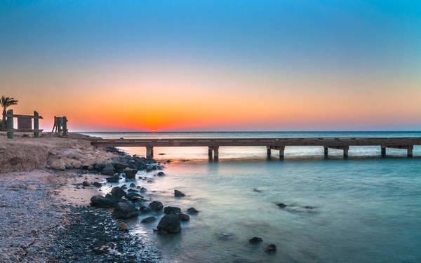 Photograph - Soma Bay Sunrise by Julis Simo