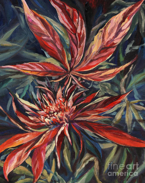 Weeds Painting - Somango by Mary Jane