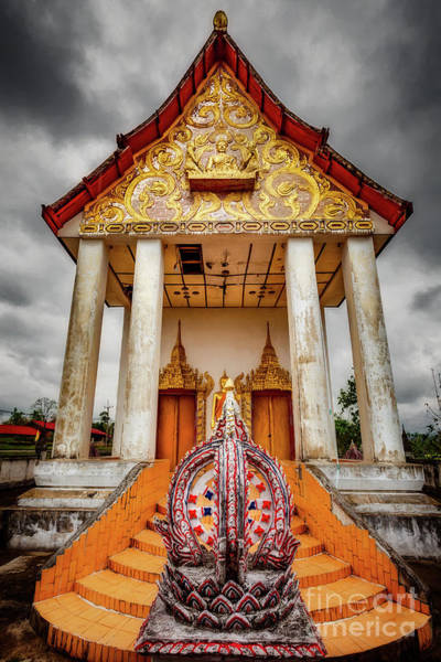 Photograph - Somdet Temple by Adrian Evans
