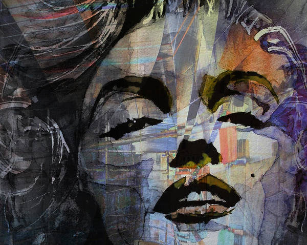 Marilyn Painting - Some Like It Hot Retro by Paul Lovering