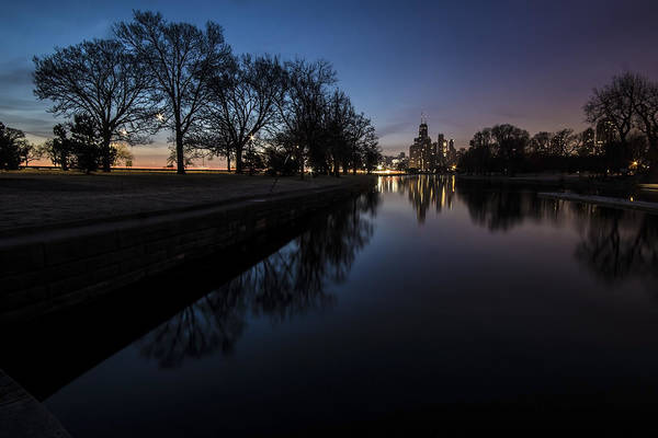 Photograph - Some Nature With The Chicago Skyline In The Background by Sven Brogren