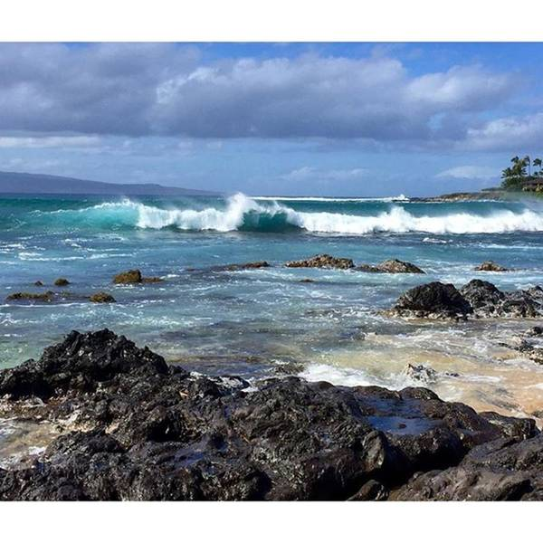 Wall Art - Photograph - Some Wave Action At Napili Bay #maui by Darice Machel McGuire