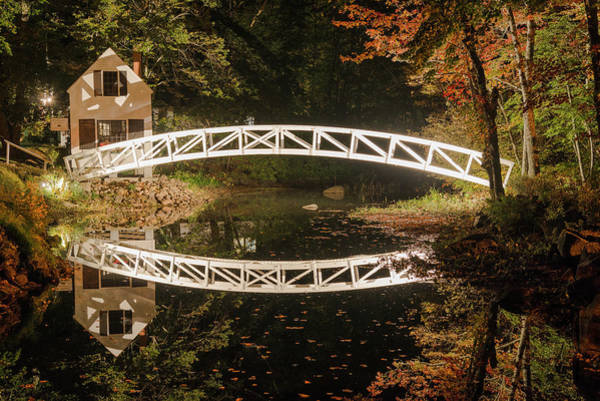 Photograph - Somesville Bridge by Gary Lengyel