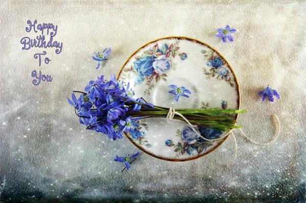 Photograph - Something Blue For You by Randi Grace Nilsberg
