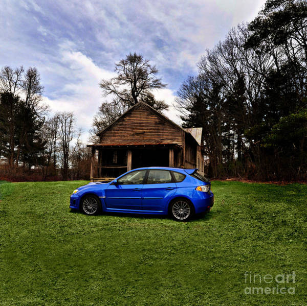 Wrx Photograph - Something Old Something Blue by Eric Liller