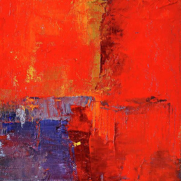 Wall Art - Painting - Something Red by Nancy Merkle