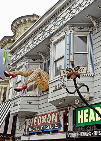 Wall Art - Photograph - Something To Find Only The In The Haight Ashbury by Jim Fitzpatrick