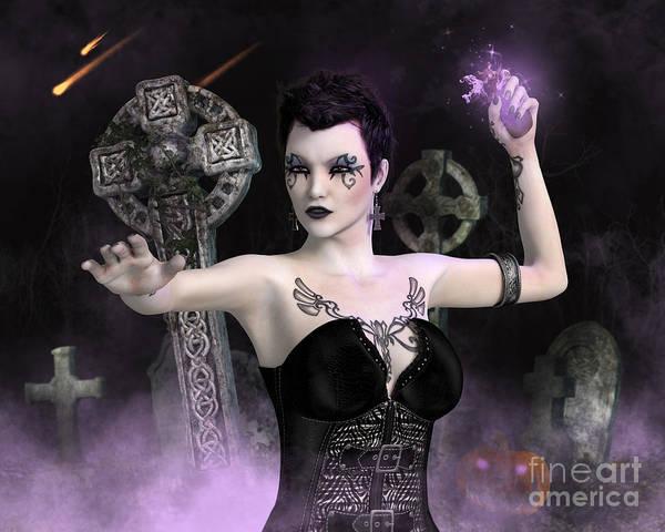 Digital Art - Something Wicked by Elle Arden Walby