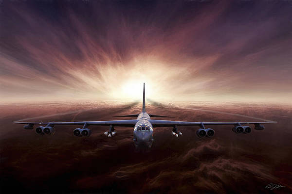 United States Air Force Digital Art - Something Wicked This Way Comes H Model by Peter Chilelli