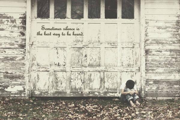 Photograph - Sometimes Silence by Susan Maxwell Schmidt