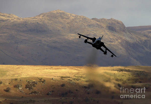 Mach Loop Photograph - Somewhere In Wales by Angel Ciesniarska