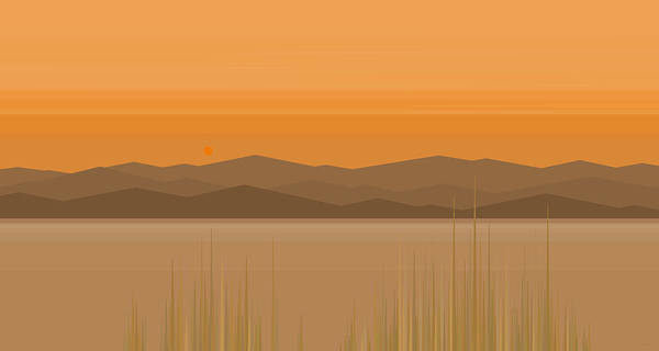 Digital Art - Somewhere Out West by Val Arie