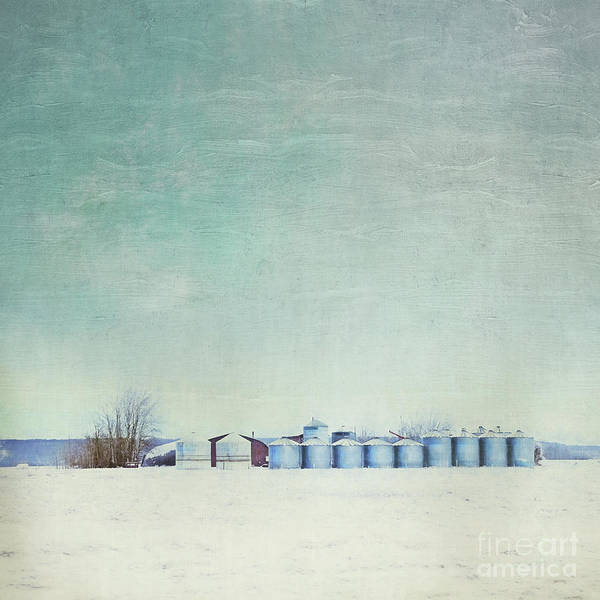 Farmstead Photograph - Somewhere by Priska Wettstein