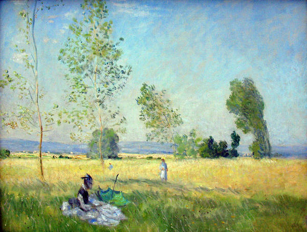 Painting - Sommer Anagoria Claude Monet 1874 by Claude Monet