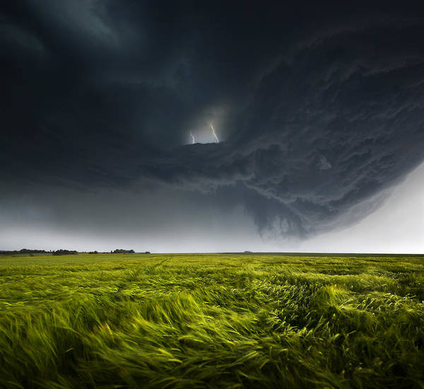 Germany Wall Art - Photograph - Sommergewitter_02 by Franz Schumacher
