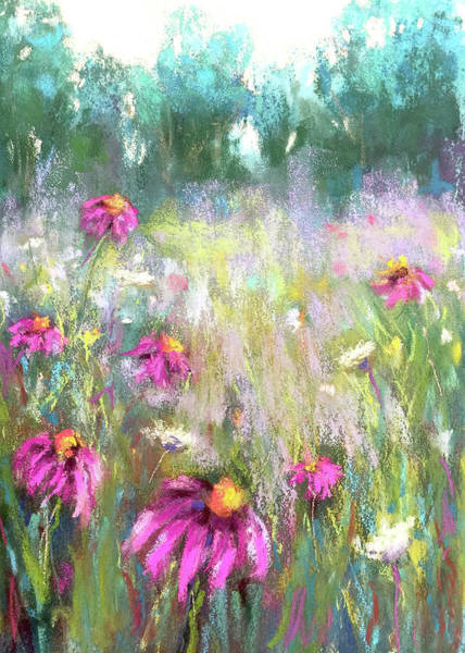 Pastel - Song Of The Flowers by Susan Jenkins