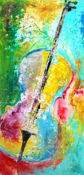 Sax Painting - Song Of The Heart by Ivan Guaderrama