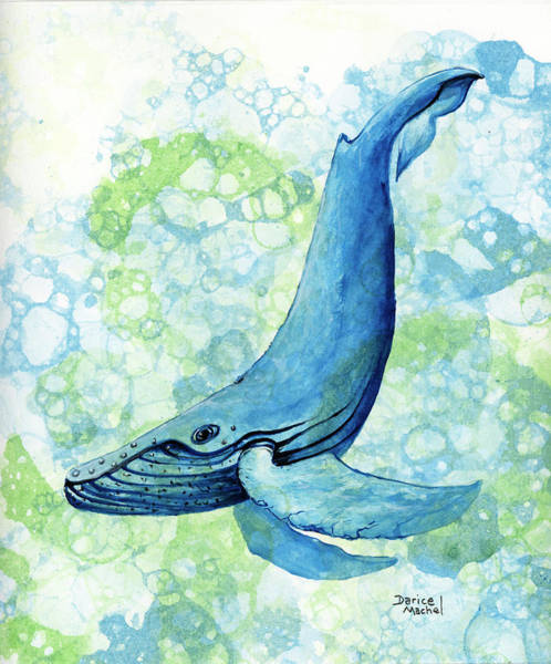 Painting - Song Of The Humpback by Darice Machel McGuire