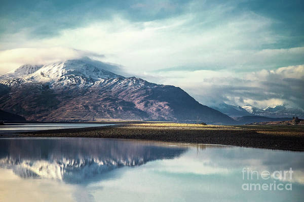 Scottish Landscape Photograph - Song Of The Mountain by Evelina Kremsdorf
