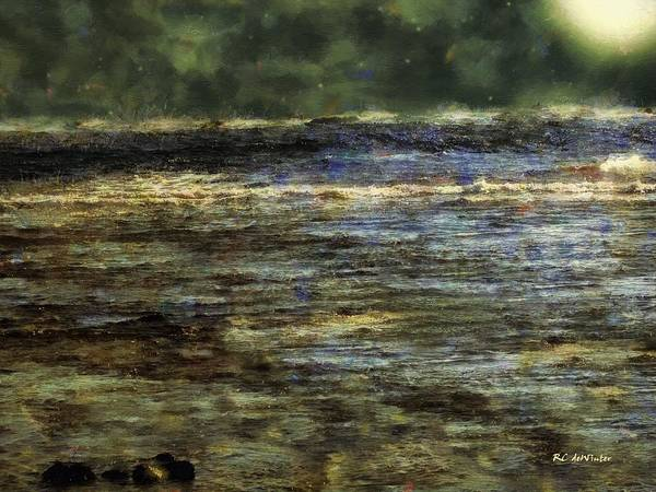 Painting - Song Of The Sea by RC DeWinter