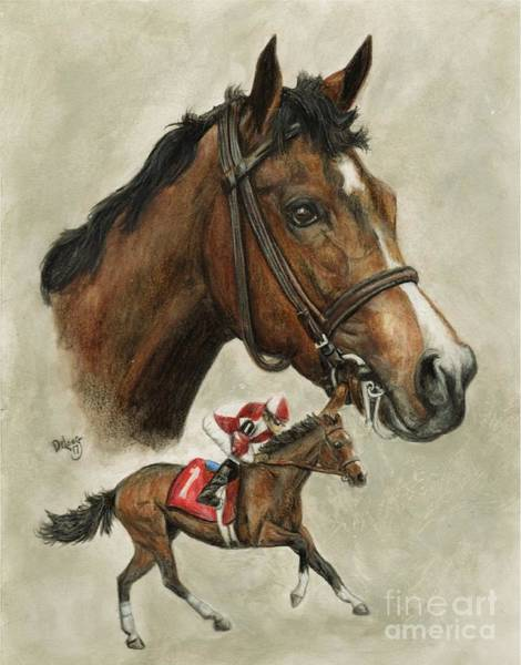 Wall Art - Painting - Songbird Racing by Pat DeLong
