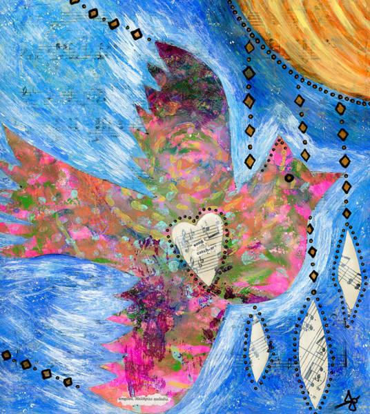 Spiritual Wall Art - Photograph - Songcatcher by Julia Ostara From Thrive True dot com