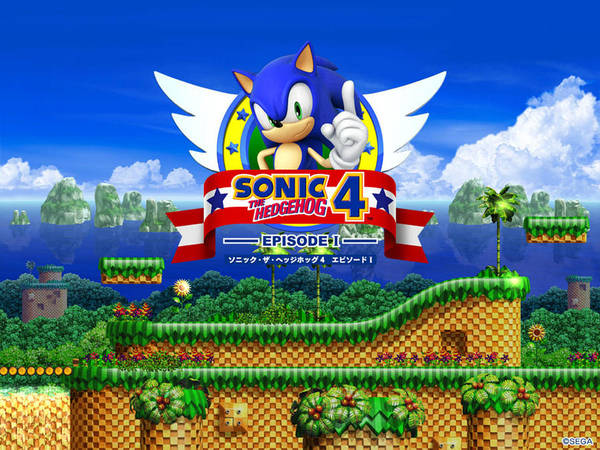 Episode 4 Wall Art - Digital Art - Sonic The Hedgehog 4 Episode I by Angie Fraley