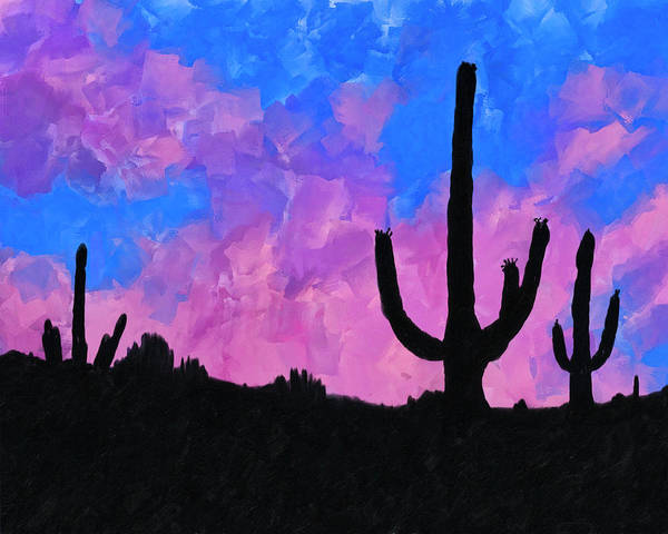 Mixed Media - Sonoran Desert Dreams by Mark Tisdale