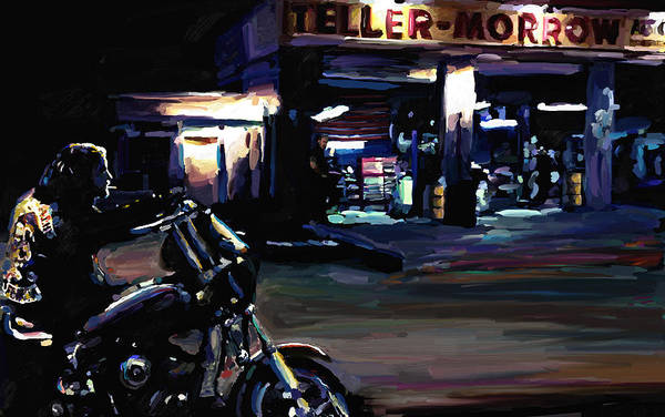 Son Painting - Sons Of Anarchy Jax Teller Signed Prints Available At Laartwork.com Coupon Code Kodak by Leon Jimenez