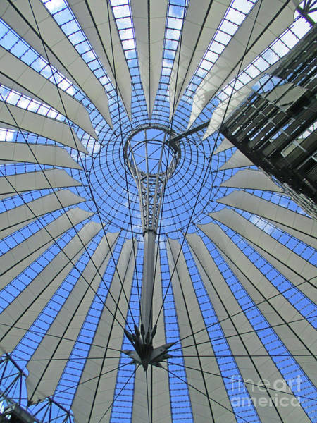 Sony Center Photograph - Sony Center 10 by Randall Weidner