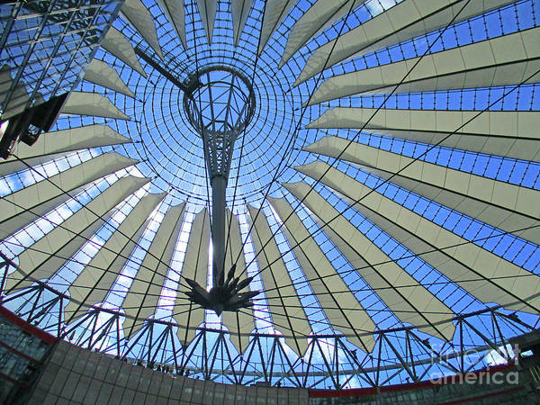 Sony Center Photograph - Sony Center 18 by Randall Weidner