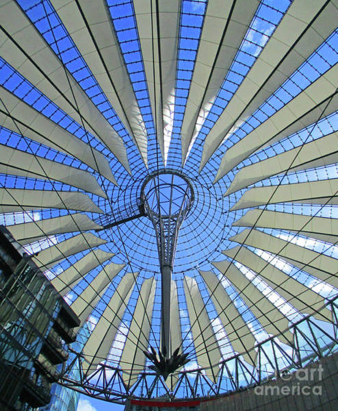 Sony Center Photograph - Sony Center 19 by Randall Weidner