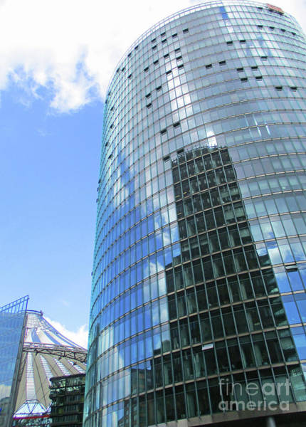 Sony Center Photograph - Sony Center 2 by Randall Weidner